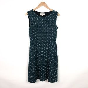 LOFT Printed Sleeveless Dress